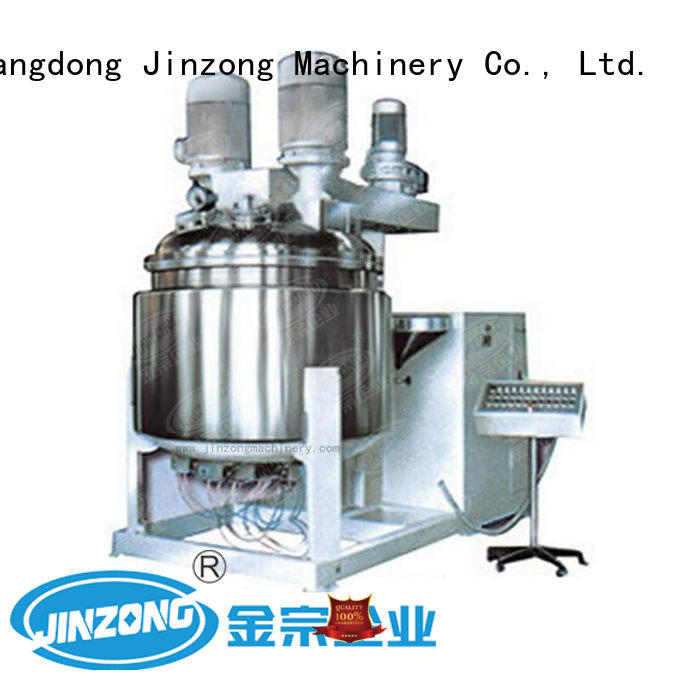 Jinzong Machinery high quality stainless steel tank high speed for petrochemical industry