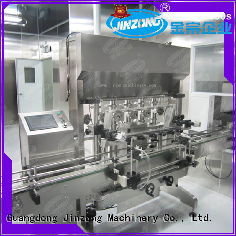 Jinzong Machinery practical cosmetic machine factory for paint and ink