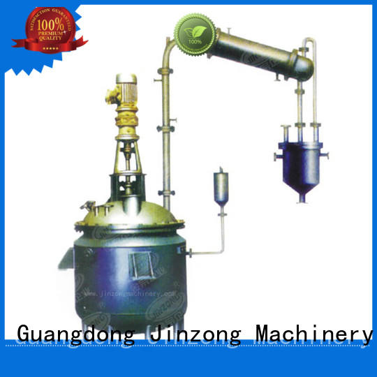 Jinzong Machinery multifunctional chemical reactor on sale for reaction