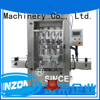 Jinzong Machinery precise cosmetic cream filling machine high speed for nanometer materials