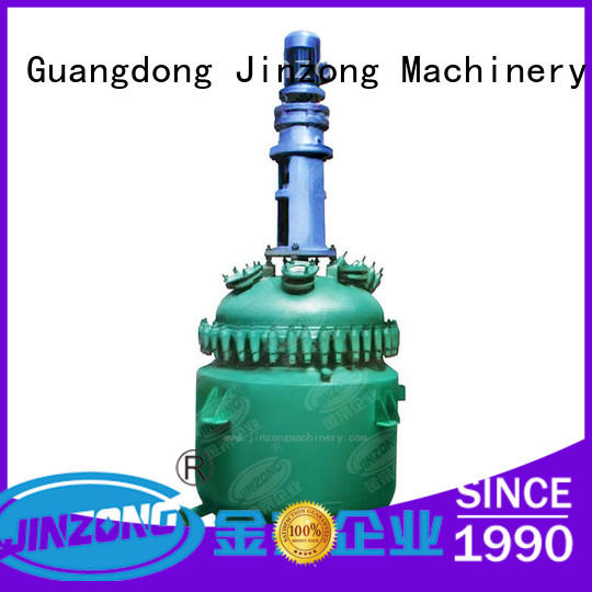 Jinzong Machinery professional polyester resin reactor glasslined for stationery industry