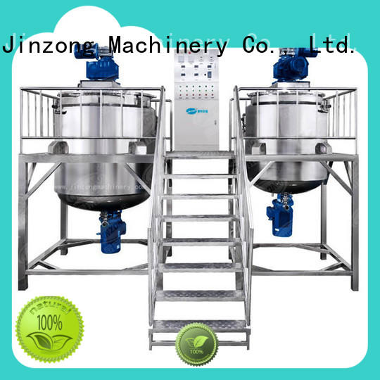 Jinzong Machinery precise Liquid Detergent Mixer factory for petrochemical industry