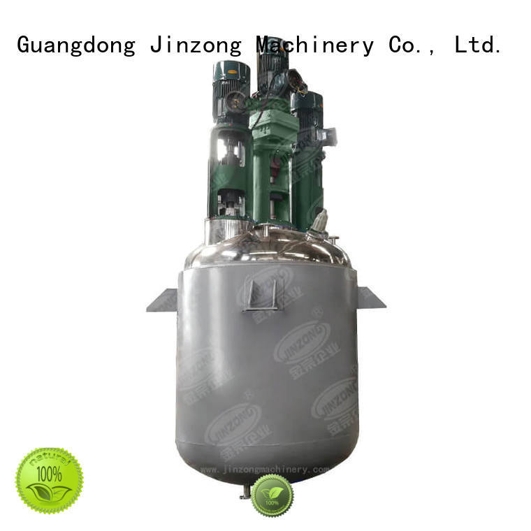 high viscosity reactor stainless for distillation Jinzong Machinery