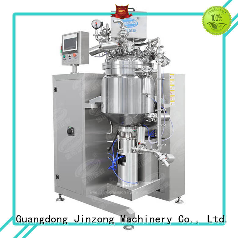 Jinzong Machinery multi function liquid detergent mixer series for pharmaceutical