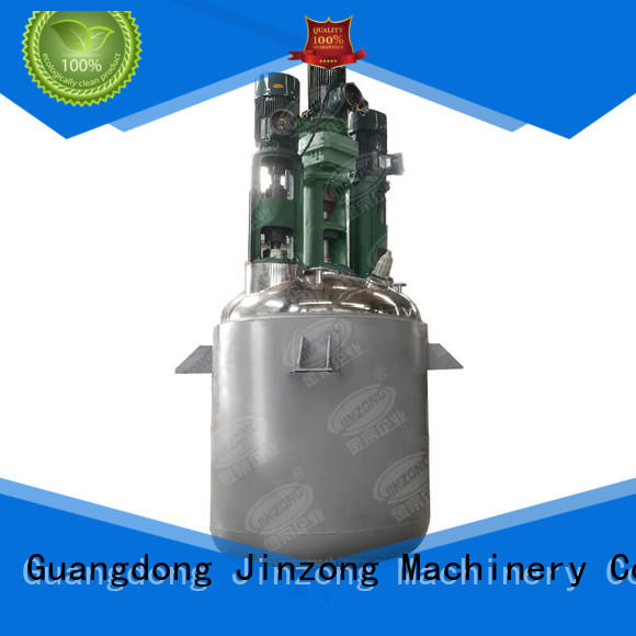 Jinzong Machinery durable glass-lined reactor manufacturer for chemical industry