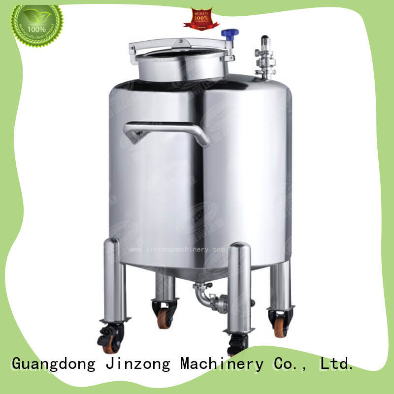 Jinzong Machinery dairy Vacuum emulsifier wholesale for paint and ink