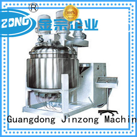steel cosmetic cream mixing machine mask for food industry Jinzong Machinery
