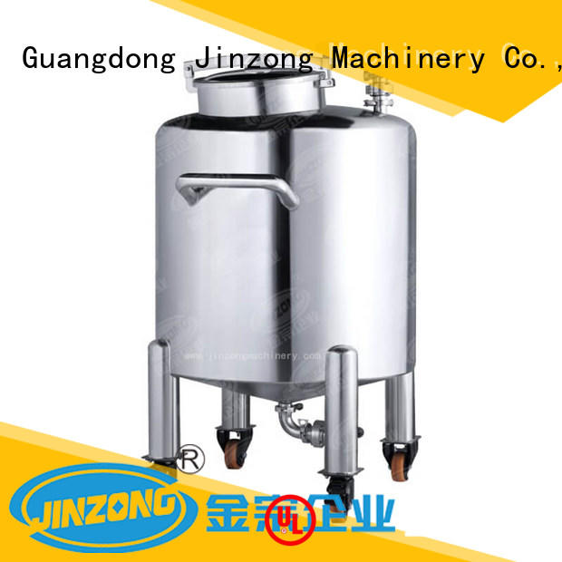 Jinzong Machinery liquid cosmetic filling and packaging wholesale for food industry