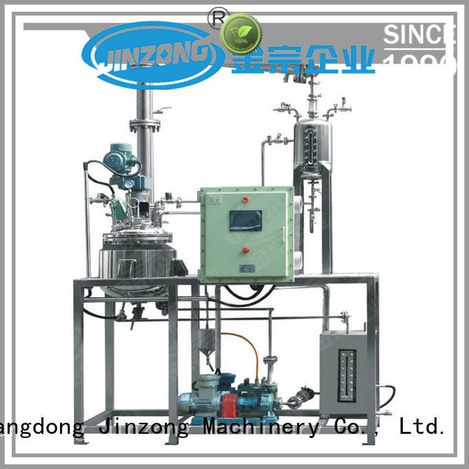 Jinzong Machinery anticorrosion pilot reactor online for The construction industry