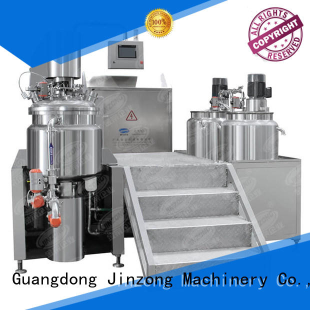 Jinzong Machinery precise mix tank online for petrochemical industry