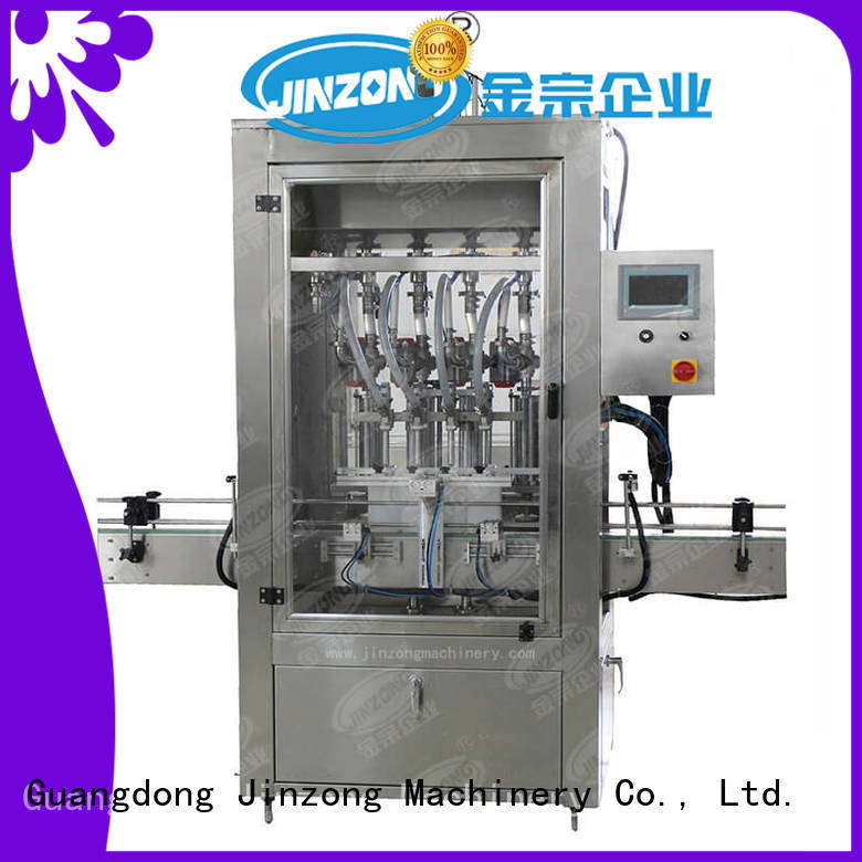 Jinzong Machinery machine filling machines for cosmetic creams & lotions high speed for petrochemical industry