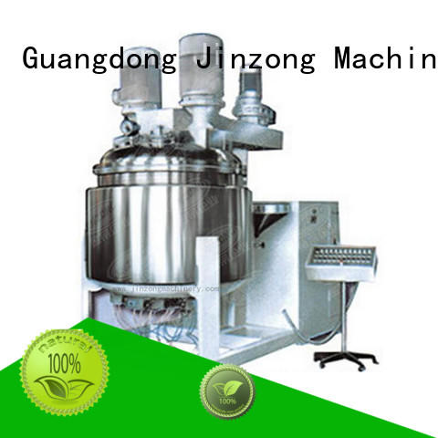Jinzong Machinery liquid cosmetic mixer equipment high speed for nanometer materials