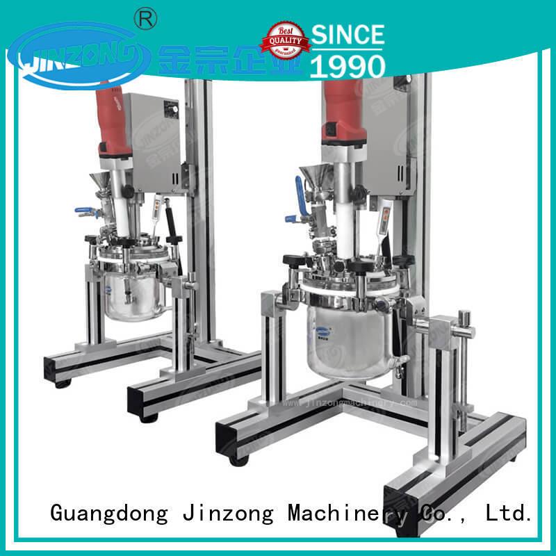 cream filling machine steel for nanometer materials Jinzong Machinery