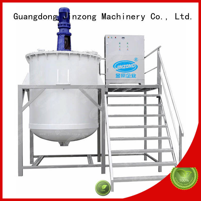 Jinzong Machinery laboratory cosmetic manufacturing equipment high speed for nanometer materials