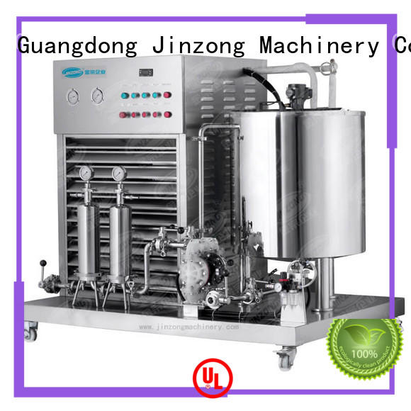 Jinzong Machinery double cosmetic cream filling machine wholesale for nanometer materials