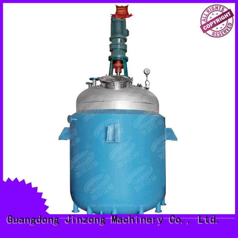technical high viscosity reactor on sale for distillation Jinzong Machinery