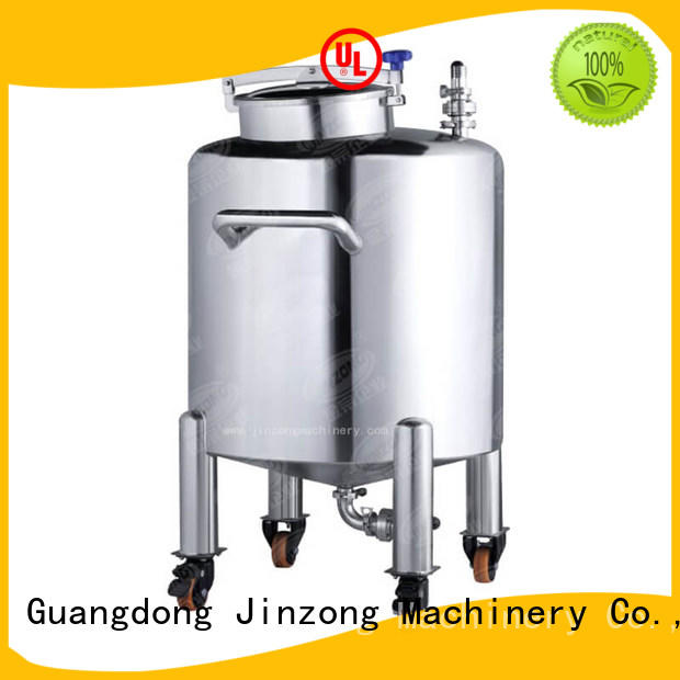 Jinzong Machinery automatic stainless steel mixing tank high speed for petrochemical industry