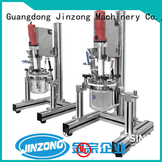 Jinzong Machinery engineering industrial tank mixers factory for paint and ink