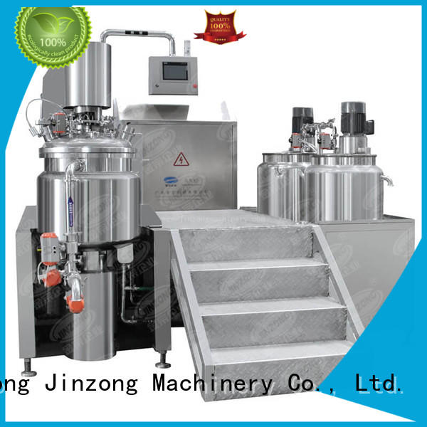 Jinzong Machinery detergent cosmetic cream filling machine high speed for paint and ink
