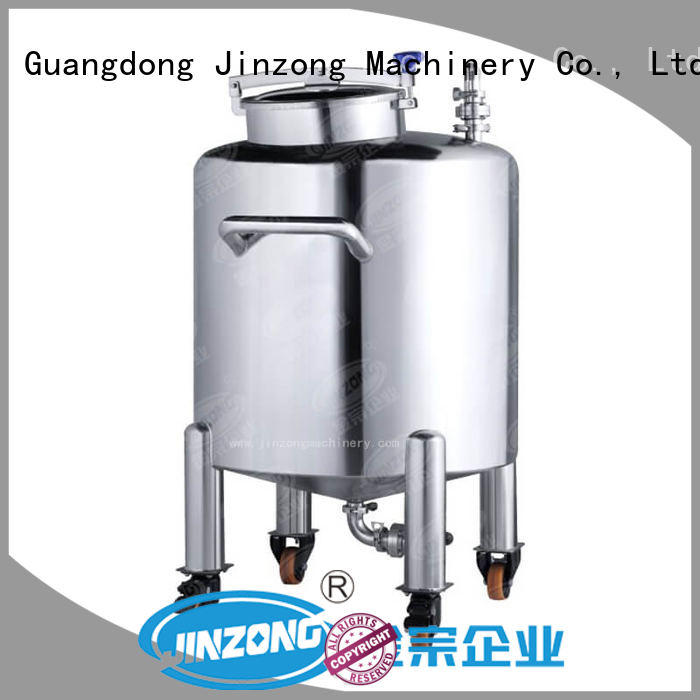 double cosmetics tools and equipments steel for paint and ink Jinzong Machinery