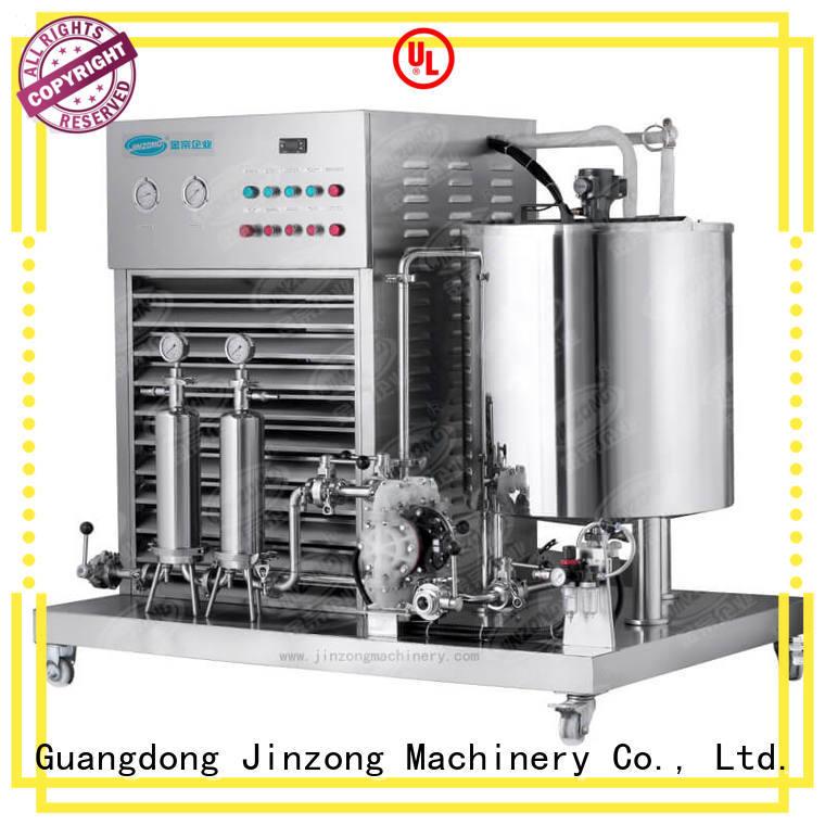 Jinzong Machinery practical Cosmetic cream homogenizer wholesale for nanometer materials