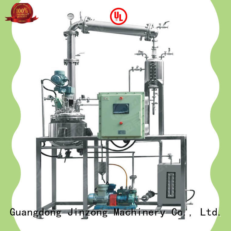 Jinzong Machinery production chemical reaction machine Chinese for reflux
