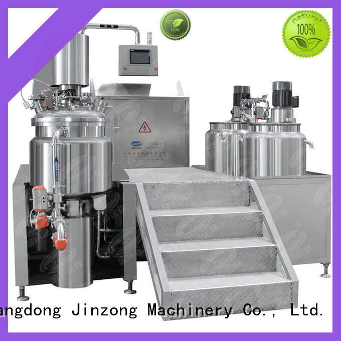 Jinzong Machinery utility cream filling machine online for nanometer materials