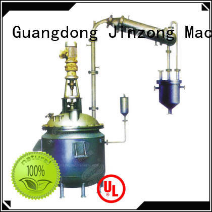 Jinzong Machinery viscosity pilot reactor manufacturer for distillation