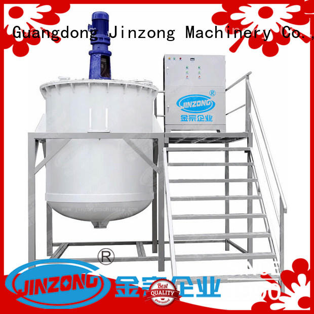 emulsifying mixer labeling for petrochemical industry Jinzong Machinery