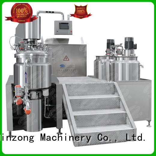 Jinzong Machinery practical Liquid Detergent Mixer high speed for petrochemical industry