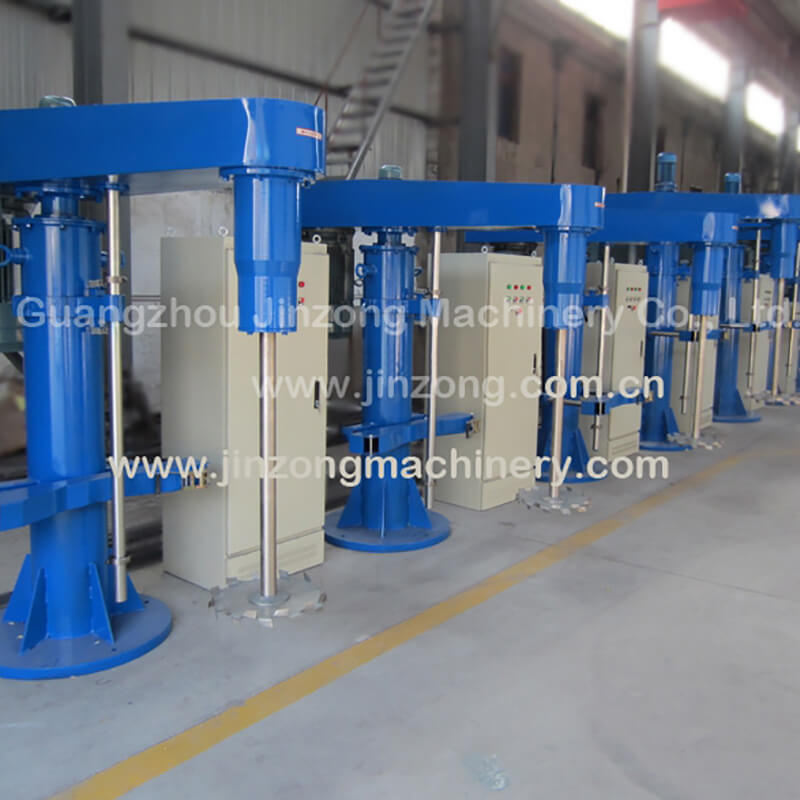 Jinzong Machinery production automatic control system Chinese for reaction-1
