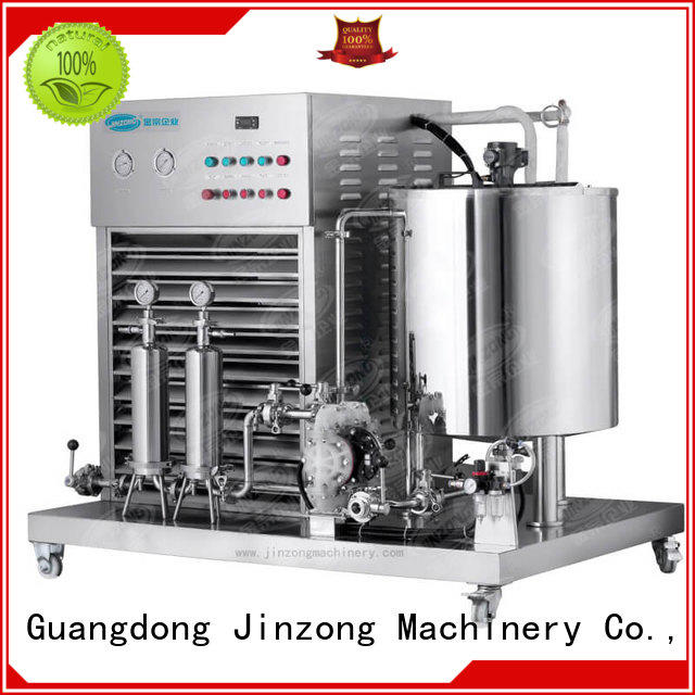 Jinzong Machinery wholesale cosmetic filling machine high speed for food industry