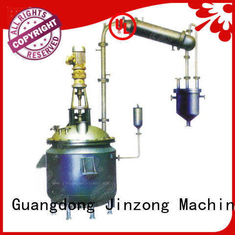 Jinzong Machinery carbon high viscosity reactor Chinese for distillation