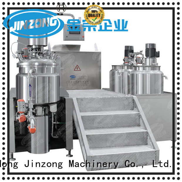 mlr Shampoo making machine tank for food industry Jinzong Machinery