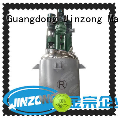 external pilot reactor manufacturer for reaction Jinzong Machinery