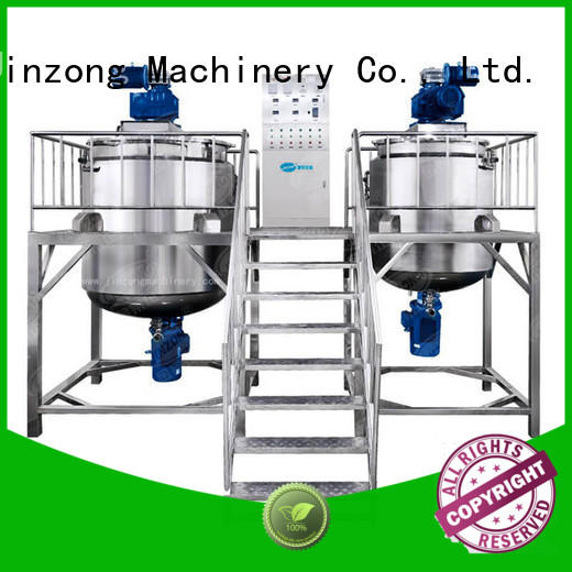 precise Cosmetic cream homogenizer machine factory for food industry