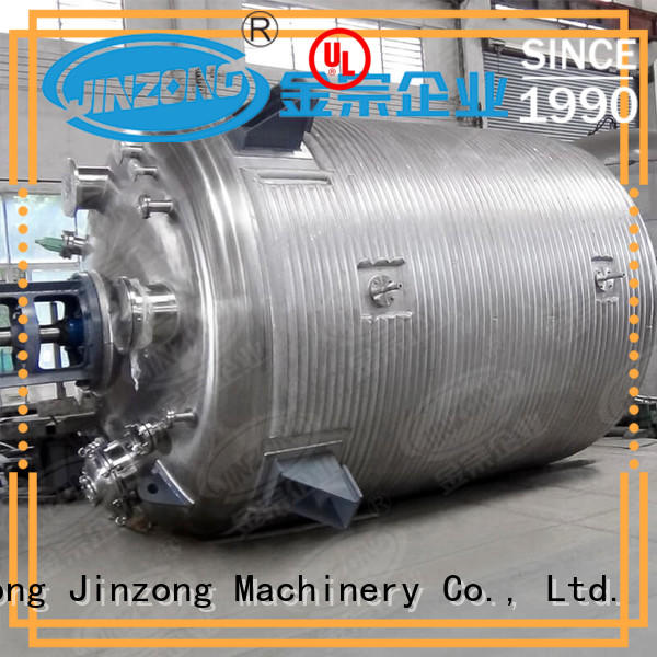 Jinzong Machinery stainless steel chemical process machinery viscosity for reflux