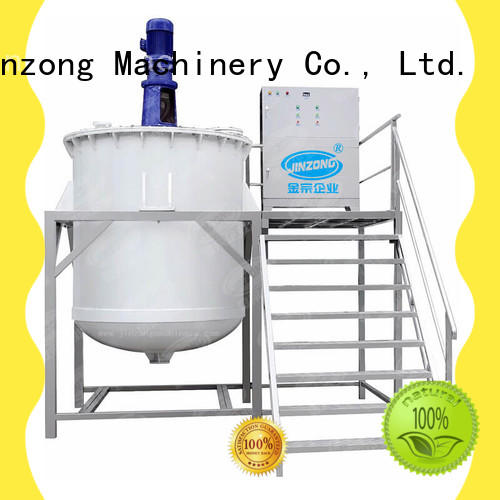 Jinzong Machinery emulsifying Liquid Detergent Mixer high speed for petrochemical industry