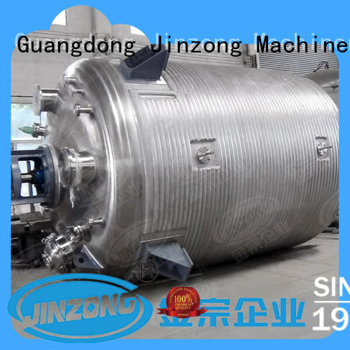 Jinzong Machinery speed chemical reactor on sale for reaction