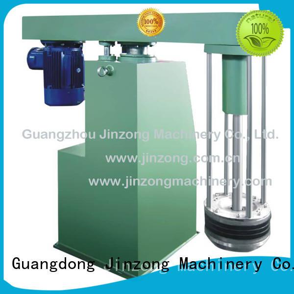 Jinzong Machinery three horizontal sand mill high speed for industary