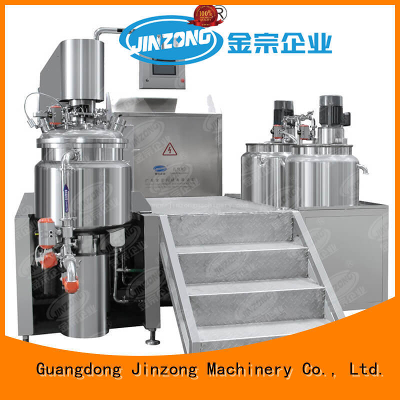 high quality cosmetic cream making machine wholesale for petrochemical industry Jinzong Machinery