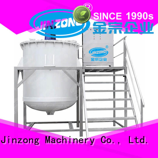 Jinzong Machinery cosmetics stainless steel tank wholesale for paint and ink