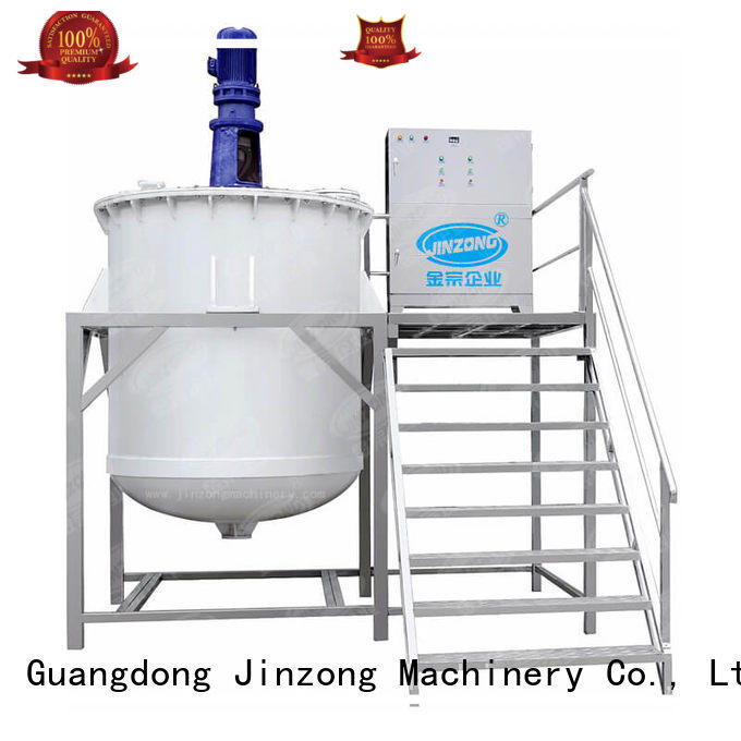 Jinzong Machinery stainless cosmetic cream manufacturing equipment factory for nanometer materials