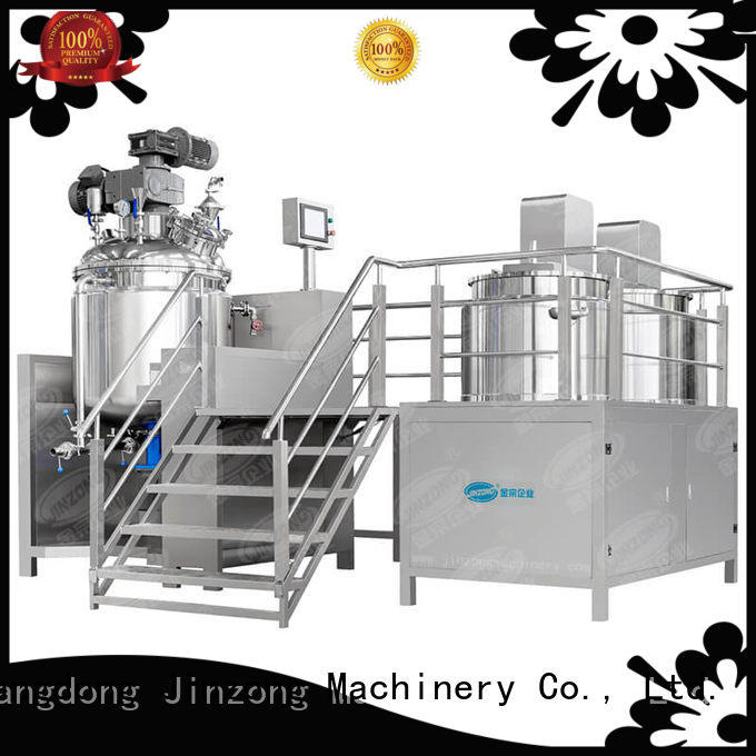 Jinzong Machinery vacuum crystallizer equipment supplier for reaction