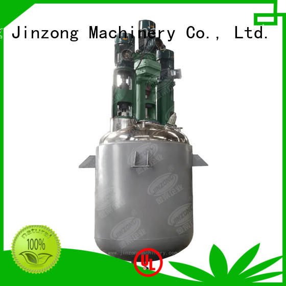 Jinzong Machinery stainless steel chemical making machine manufacturer for distillation