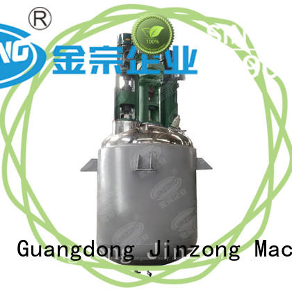 Jinzong Machinery electrical chemical reactor on sale for distillation