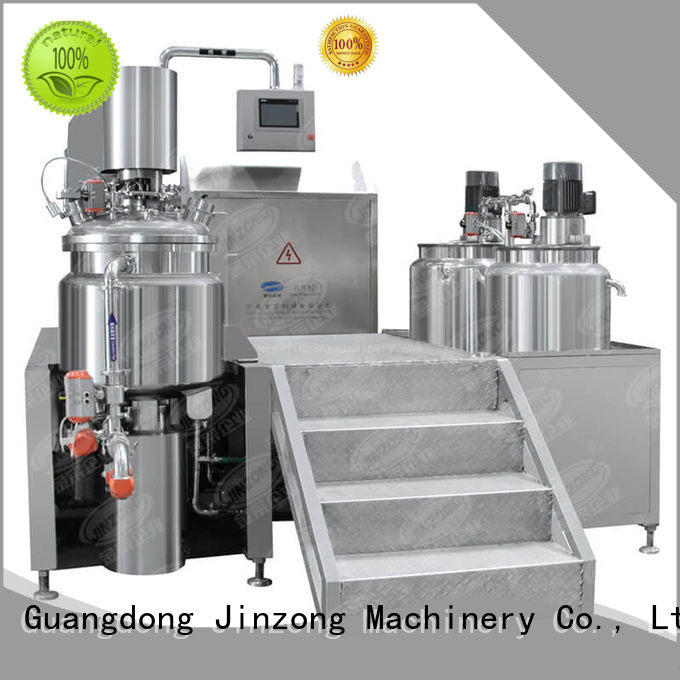 Jinzong Machinery mlr Liquid Detergent Mixer wholesale for petrochemical industry