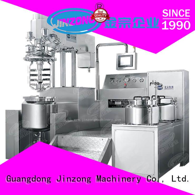 Jinzong Machinery jr pharmaceutical reaction reactors series for reaction