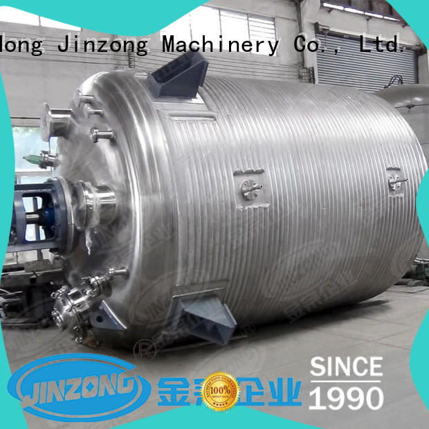 Jinzong Machinery stainless steel lab reactor manufacturer for The construction industry