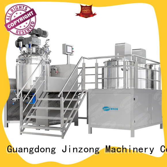 Jinzong Machinery ointment pharmaceutical machinery series for reflux